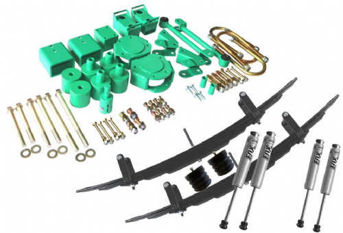 "STAGE 5- VAN COMPASS™ STRIKER 4X4 SPRINTER 2"" LIFT KIT WITH FOX SHOCKS"